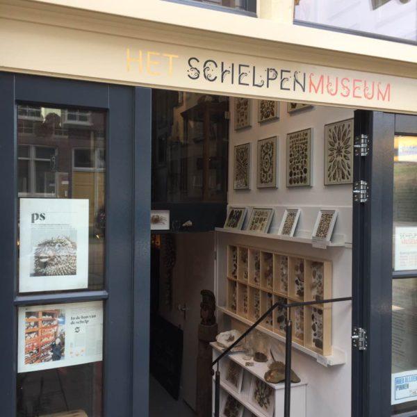 Op 19 maart 2017 is Het Schelpenmuseum Amsterdam..