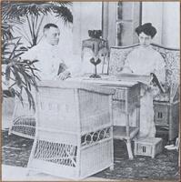 Maria Dermout en haar man Isaac