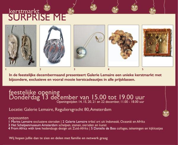 Feestelijke Kerstmarkt Bij Galerie Lemaire